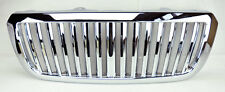 Ford Ranger 04-07 Chrome Vertical Front Bumper Hood Grill