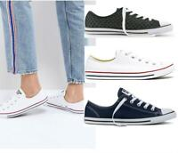 New Converse Chuck Taylor All Star Dainty Ox Lo Shoes UK 3 - 7  sneakers pumps