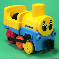 Playmobil 123 First Smile & 1.2.3 Eisenbahn Lok Schiebelok #jl184