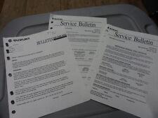 Suzuki Operation of Digital Tachometer Factory Service Bulletin No. 16-18