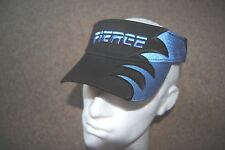 FIERCE WAVE EMBROIDERED LOGO YOUTH SUN VISOR CAP BNWT SKATEBOARD RIP SURF BEACH