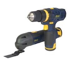 GMC GTPDDOMT12 Multi-Tool & Combi Hammer Drill Twin Pack 12V