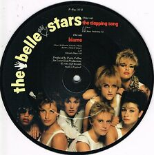 BELLE STARS the clapping song U.K. STIFF PICTURE DISC 45rpm_1982