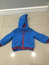 Blue Zoo Debenhams Boys Coat Age 3-4 good condition