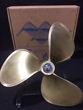 "Michigan Dyna-Jet Bronze Propeller 17 x 18 Rep 1.5"" Bore"