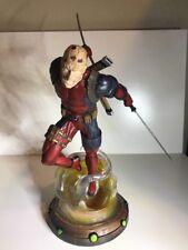 Marvel Gallery Deadpool 9-Inch PVC Figure Statue Unmasked GameStop Exclusive