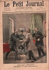 L'Affaire Dreyfus Avocats Edgar Demange Fernand Labori France 1899 ILLUSTRATION