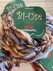 Bi-use Chunky Multi Coloured Yarn By Adriafil 20 X 50g Balls SALE