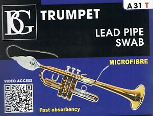 Trumpet Leadpipe Cleaning Swab / Cloth / Pull through