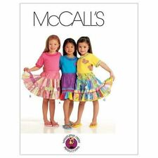 McCalls Sewing Pattern 5841 Girls Childs Skirt Size 3-6 CCE Uncut