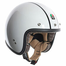 Fibreglass Open Face Plain AGV Motorcycle Helmets