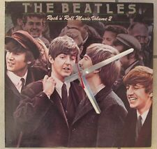 THE BEATLES-ROCK N ROLL MUSIC 2 ALBUM COVER CLOCK--GREAT GIFT!*FREE SHIPPING!!-