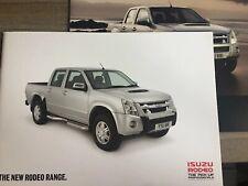 ISUZU RODEO 2011 RANGE CAR BROCHURE + PRICE LIST. DENVER MAX AUTO PLUS LE CABS