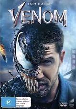 VENOM DVD (2018) TOM HARDY NEW & SEALED- FREE POSTAGE! REGION 4