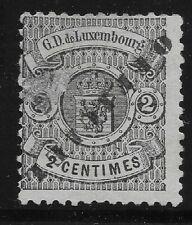Luxembourg Scott #O30, Single 1878-80 FVF MH