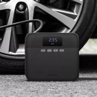 TP03 12V Portable Car Tire Inflator Digital Display Air Pump Compressor Black AU