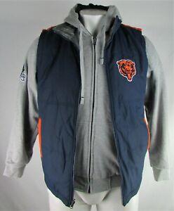 Chicago Bears NFL G-III Men's Reversible Vest with Reversible Sweater