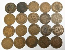Twenty Mixed King George V AUSTRALIA PENNY Coin Collection Lot (#L9388)