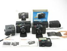 2x fotocamera analogica Minox 35 el GT Color-Minotar 1:2,8 F = 35mm + Flash FC 35 IN BOX