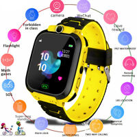 Smart Watch with GPS GSM Locator Touch Screen Tracker SOS for Kids Children pw