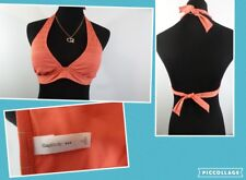 "****Gap Body**** Wmn's ""Small"" Coral Striped Lined Swim Bikini Top"