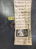 1930's LINEMAR MARX MATCH BOX MATCHBOX VEST POCKET BUILDER CONSTRUCTION SET