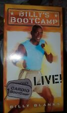 Billy's Bootcamp Cardio Bootcamp Live! [VHS] Brand New and Sealed