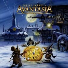 LIMITED EDITION DIJIBOOK  The  Mystery of Time: A Rock Epic AVANTASIA CD