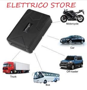 LOCALIZZATORE GPS TRACKER TK915 ANTIFURTO SATELLITARE AUTO MOTO BARCA GOMMONE CA
