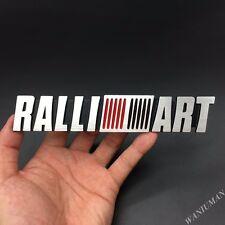 New Metal Ralliart Logo Car Emblem Badge Decal Sticker For Mitsubishi Lancer EVO