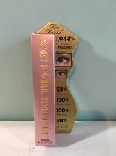 Too Faced - Better Than Sex Mascara, Black- Full Size- 0.27 Fl. Oz. ~ BRAND NEW