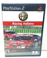 Racing Italiano Playstation 2, PS2 Racing Video Game Brand New