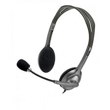 7fc9b8611e1 Logitech H111 Stereo Headset 3.5mm with Rotating Microphone & Noise  Cancellation