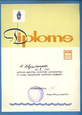 1970s LATVIA RUSSIA DIPLOMA 1ST PLACE CHAMPIONSHIP CHECKERS VINTAGE COVER 788