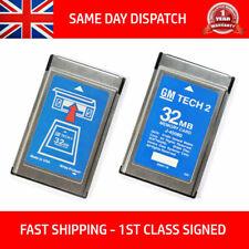 FITS OPEL 173.000 1997-2014 GM TECH2 TECH 2 32MB MEMORY CARD SOFTWARE ENGLISH