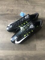 Nike Mens Size 15 Vapor Carbon Elite 2.0 Td Flywire Football Cleats Black 2014