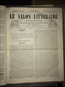 REVUE LE SALON LITTÉRAIRE. PREMIÈRE ÉDITION.TROISIÈME ANNÉE, 1843.
