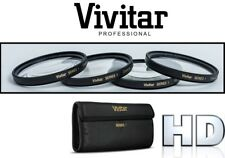 4Pcs Vivitar Close Up Macro Lens For Sony SAL-1680Z 16-80mm SAL-18250 18-250mm