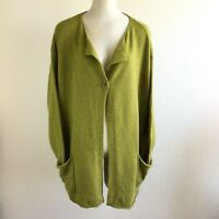 Pure J Jill Womens Sweater Wool Blend Oversized Cardigan Size S