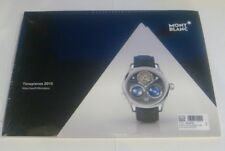 NEW MONT BLANC MONTBLANC TIMEPIECES 2015 Watches and Wonders Book Catalogue