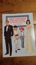 John F Kennedy And His Family Paper Doll Tom Tierney Unused Free Shipping