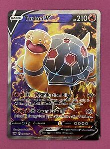 Pokemon - Torkoal V - 188/202 - Sword and Shield - Full Art - Pokémon Card