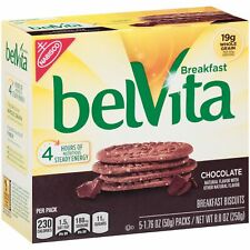 Chocolate Breakfast Biscuits, 5 Packs (4 Biscuits Per Pack)