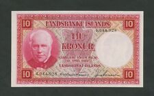 More details for iceland  10 kronur  1928  krause 33a  uncirculated  banknotes