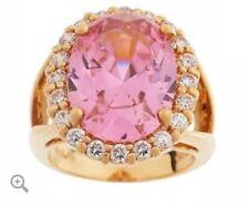 "NEW: ""Retired"" Jacqueline Kennedy Simulated Kunzite Ring, SIZE 8"