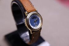 LA Express Moon Phase Ladies Watch - New Battery - Works Great- (1127)