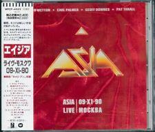 Asia Live Mockba 09-X1-90 Japan CD w/obi WPCP-4623