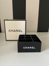 CHANEL Kit MAKE UP ORGANIZER In Acrilico - Cosmetici    10x10x5cm