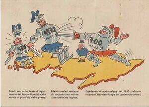 1940 ITALY FASCIST PROPAGANDA ANTI ENGLISH