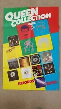 Queen Hot Space / Album Collection Uk promo poster 1982 Rare. Free shipping